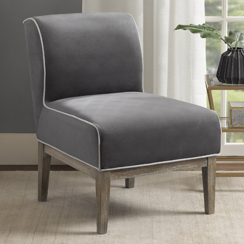 ochre penny multicolour slipper chair morrison blueochre furniture woven blue collection
