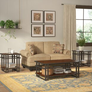 Breen 3 Piece Coffee Table Set by Trent Austin Design