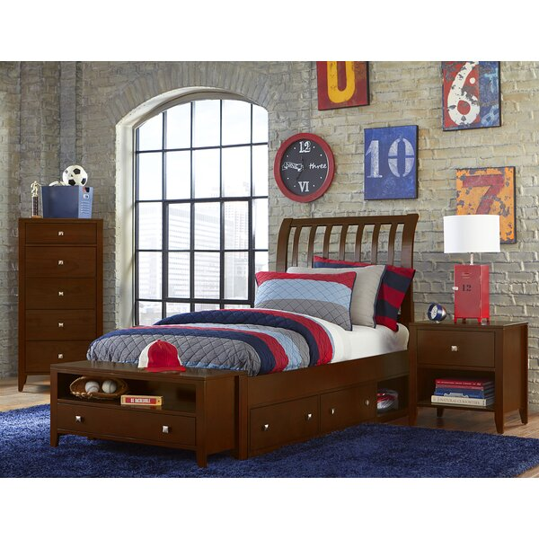 Granville Rake Storage Sleigh Bed by Viv + Rae