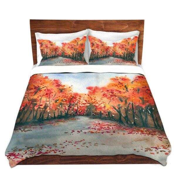 Thomaston Brazen Design Studio Autumn Journey Microfiber Duvet Covers by Winston Porter