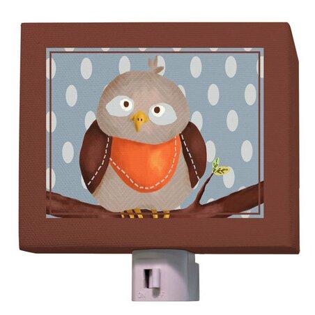 Oscar the Owl Night Light by Oopsy Daisy