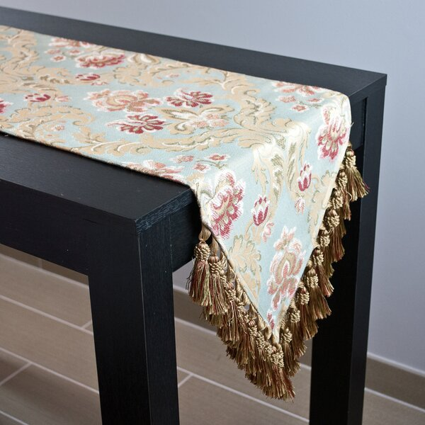 Camelia Table Runner by Sherry Kline