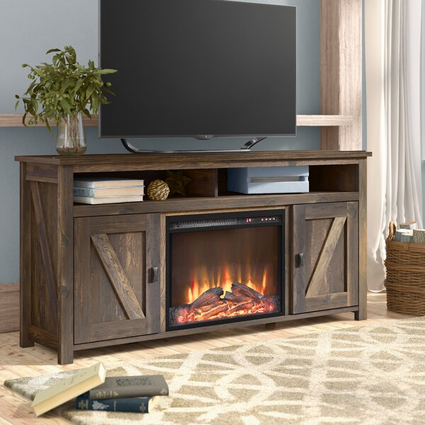 Cleveland 60 TV Stand with Fireplace by Gracie Oak