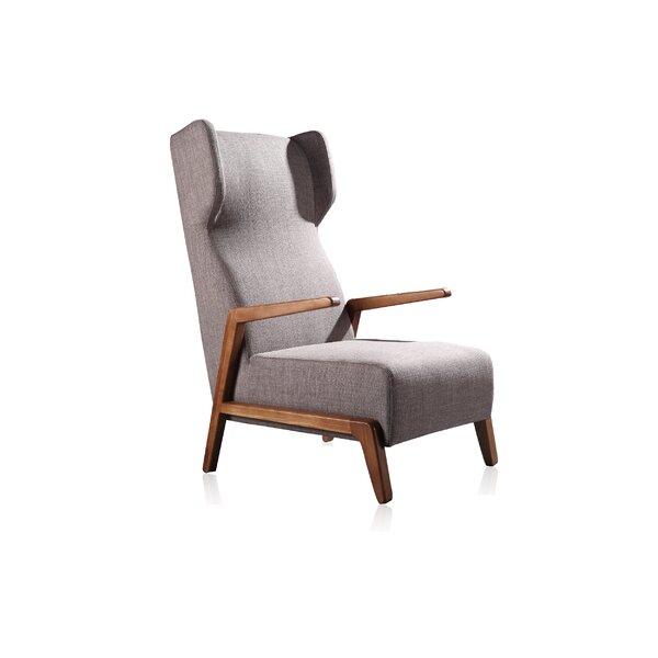 Skelton Wingback Chair by Brayden Studio