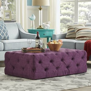 laudalino rectangular tufted cocktail ottoman