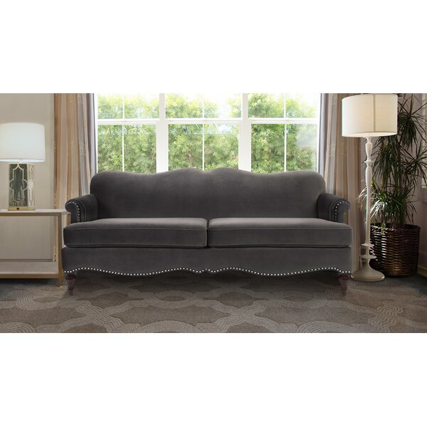 Get Great Deals Pittsford Camelback Sofa by Mistana by Mistana