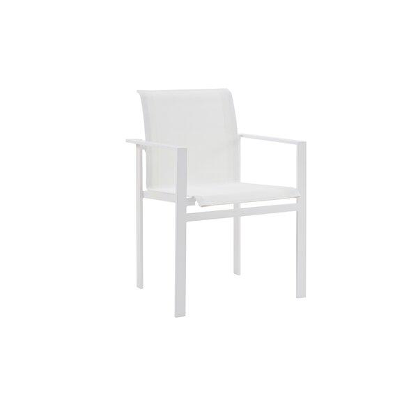 Santistevan Patio Dining Chair (Set of 2) by Orren Ellis
