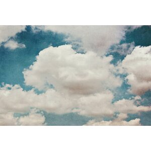 'Clouds' Painting Print on Wrapped Canvas by Marmont Hill