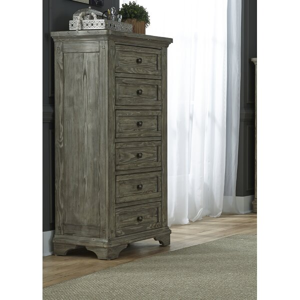 Barkell 6 Drawer Lingerie Chest by Darby Home Co