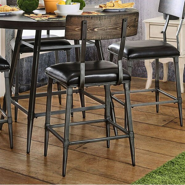 Caressee Industrial Dining Chair (Set of 2) by 17 Stories