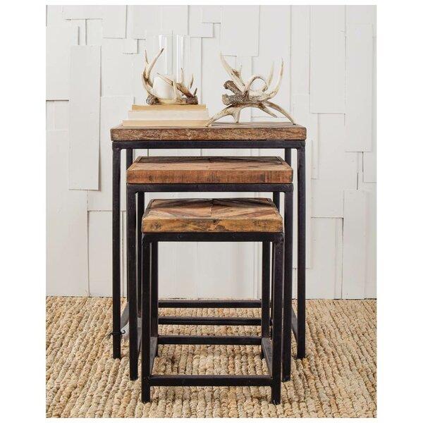 Osborne 3 Piece Nesting Tables by Union Rustic