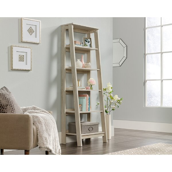 Mcilwain 5-Shelf Ladder Bookcase By 17 Stories