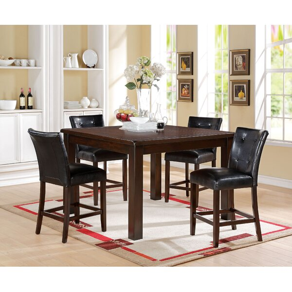 Koopman 5 Piece Counter Height Dining Set by Red Barrel Studio