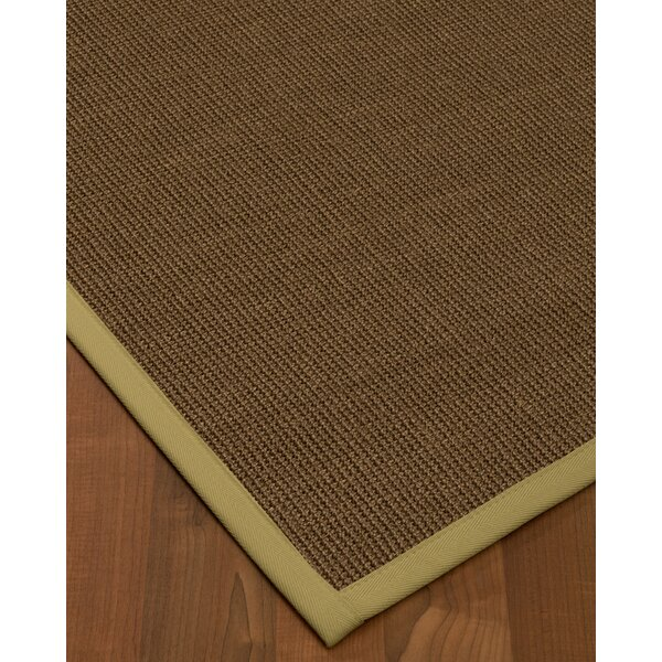Kerner Handmade Flatweave Wool Brown/Olive Area Rug