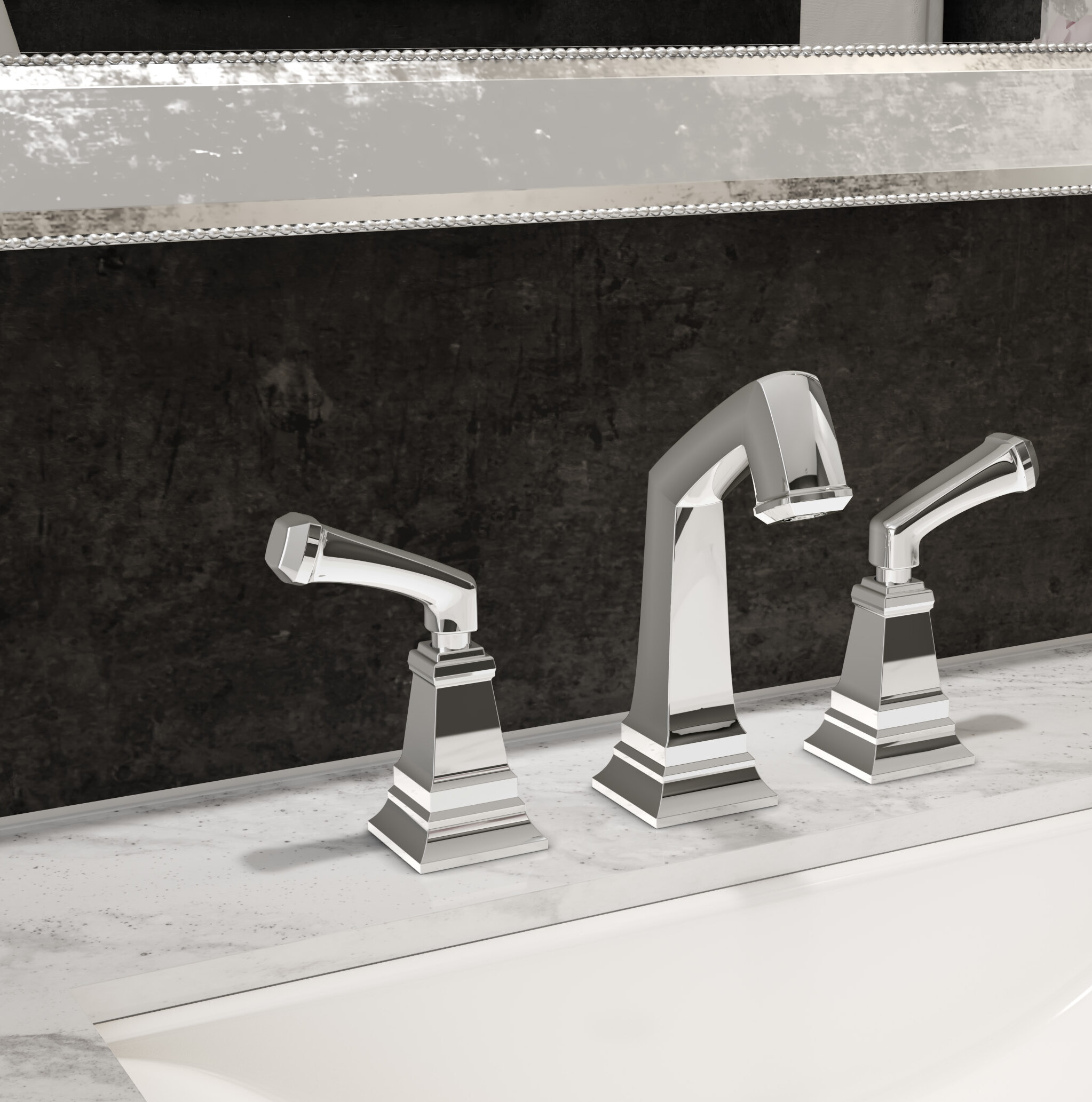 Symmons Oxford Widespread Bathroom Faucet with Drain Assembly | Wayfair