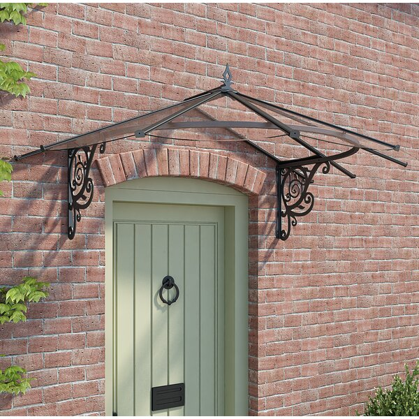 Lily Victorian 6ft. x 4ft. Door Awning by Palram