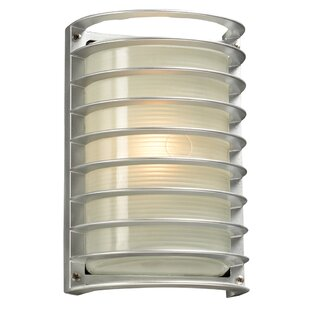 Read Reviews Turnage 1-Light Outdoor Bulkhead Light By Ebern Designs