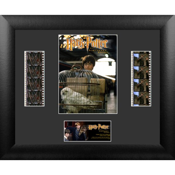 Harry Potter 1 Double FilmCell Presentation Framed Vintage Advertisement by Trend Setters