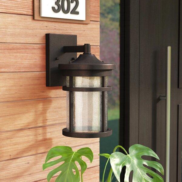 Kasey Outdoor Wall Lantern by Latitude Run
