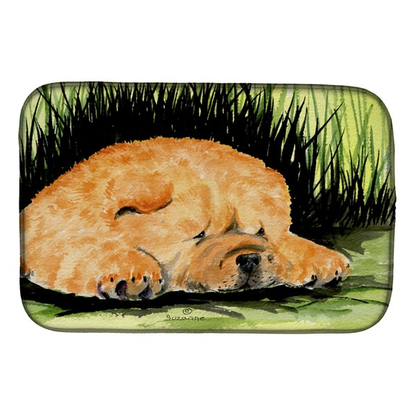 Chow Chow Dish Drying Mat by Caroline's Treasures