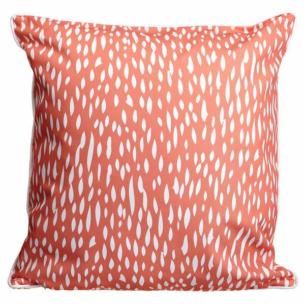 Hipster Coral Throw Pillow by Island Girl Home