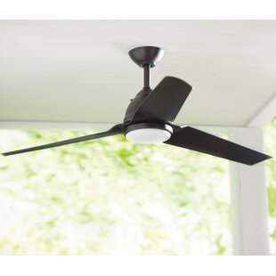 unique outdoor ceiling fans with lights nautical quickview outdoor ceiling fans youll love wayfair