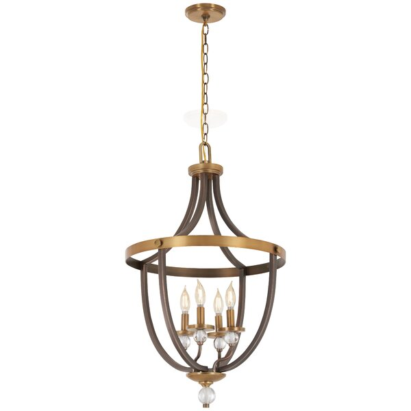 Mauer 4 - Light Candle Style Empire Chandelier by Gracie Oaks Gracie Oaks