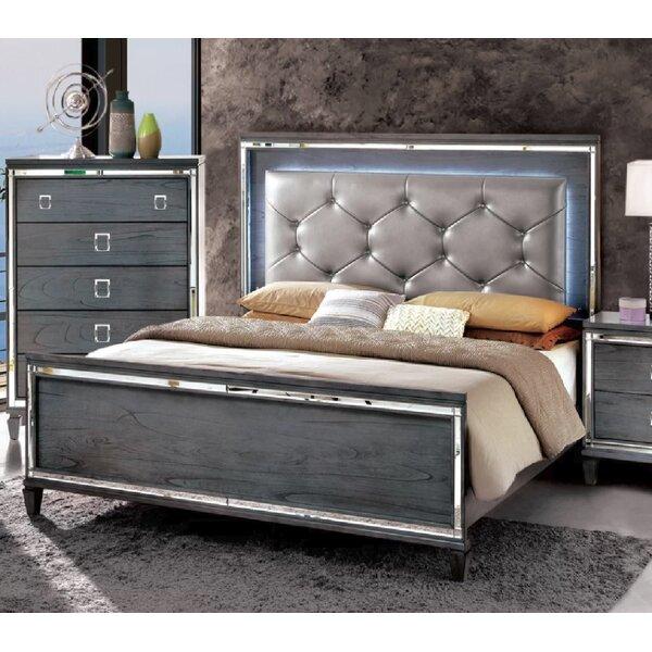 Dunsmuir Upholstered Standard Bed by Rosdorf Park