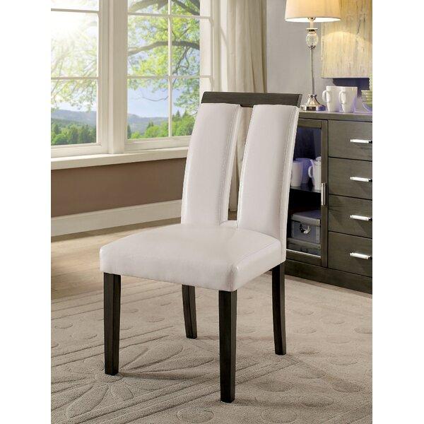 Kristina Upholstered Dining Chair (Set of 2) by Orren Ellis