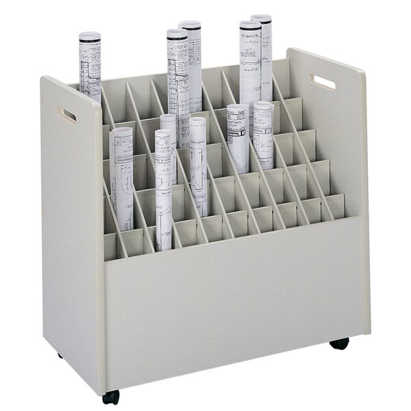 Mobile Roll Files Filing Cart by Safco Products Company