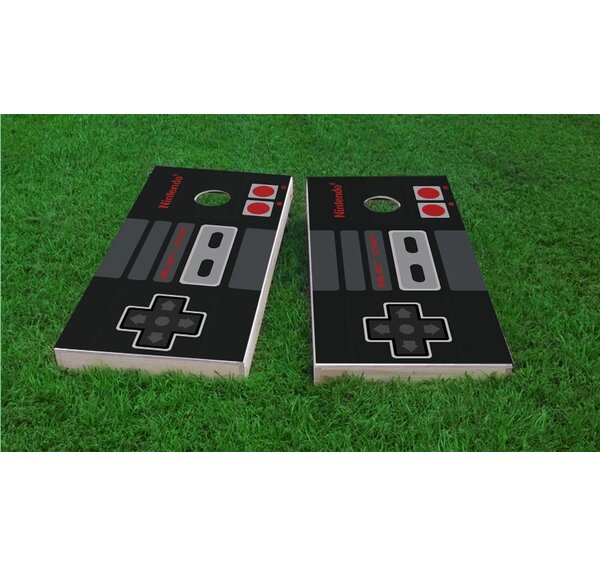 Nintendo Controller Cornhole Game Set by Custom Cornhole Boards