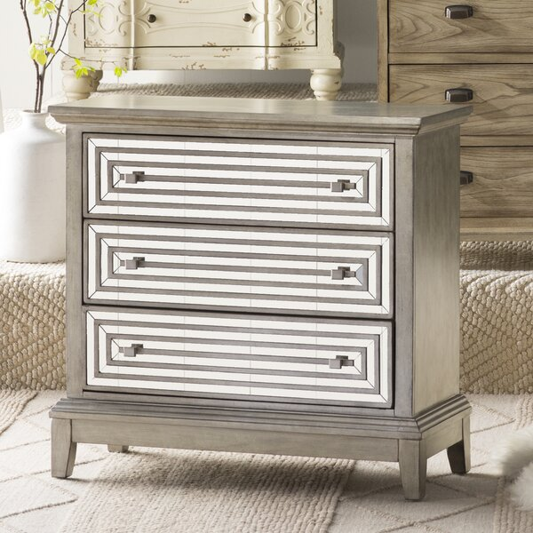 Jacqueline 3 Drawer Accent Chest by Willa Arlo Interiors Willa Arlo Interiors