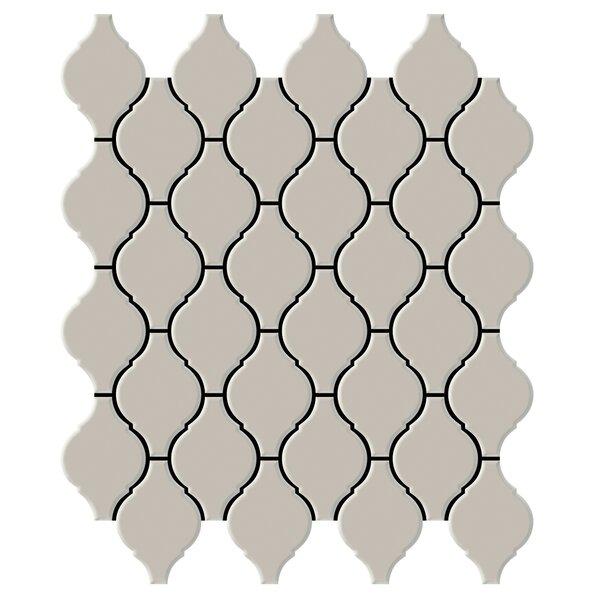Shape 2 x 2 Porcelain Mosaic Tile in Fawn by Emser Tile