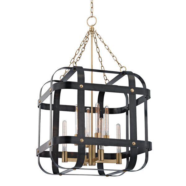 Ellaine 8-Light Unique / Statement Rectangle / Square Chandelier by Willa Arlo Interiors Willa Arlo Interiors