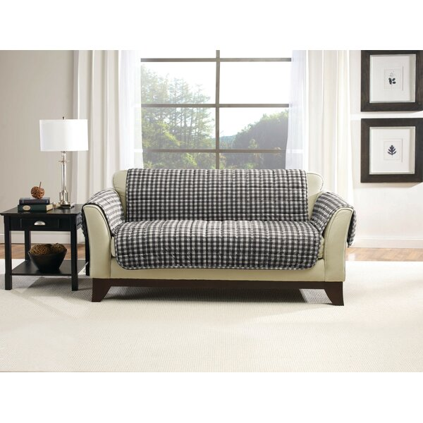 Deluxe Pet Box Cushion Loveseat Slipcover by Sure Fit