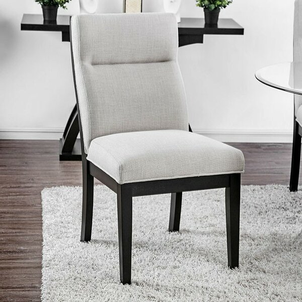 Walker Upholstered Dining Chair (Set of 2) by Orren Ellis