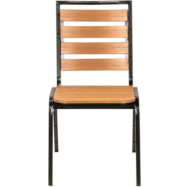Lorell Teak Patio Dining Chair by Lorell Lorell