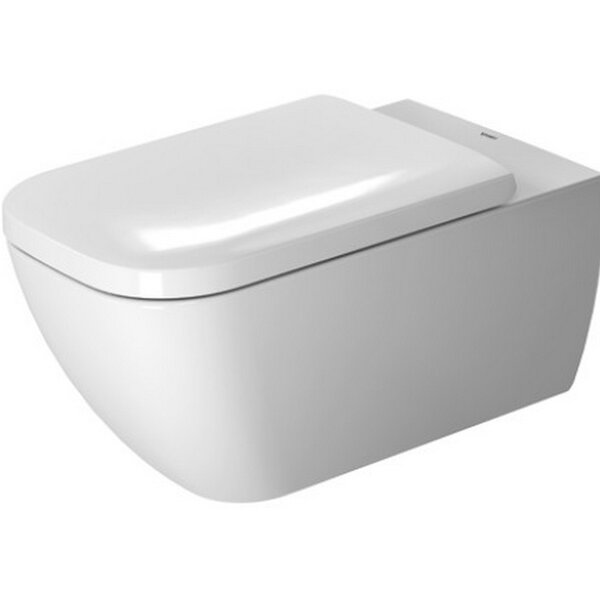 Happy D Dual Flush Elongated Toilet Bowl by Duravit