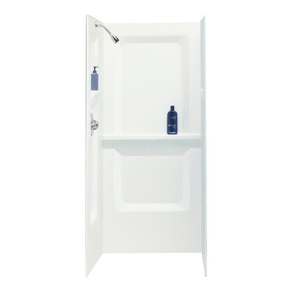 Durawall 73 x 32 x 31 Three Panel Shower Wall by E.L. Mustee & Son