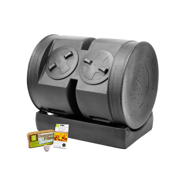 Dual Senior 80 Gal. Tumbler Composter by Good Ideas