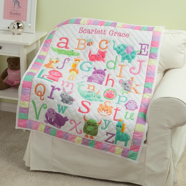 Kistler Personalized ABC Quilt by Zoomie Kids