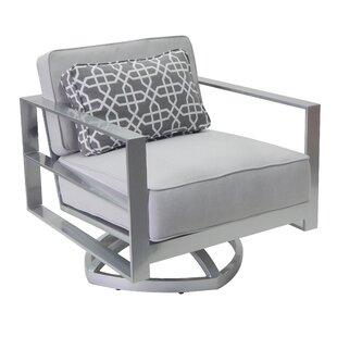 Horizons Swivel Rocking Chair with Cushion Leona