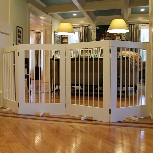 4 Panel Tall Pet Gate By Cardinal Gates.