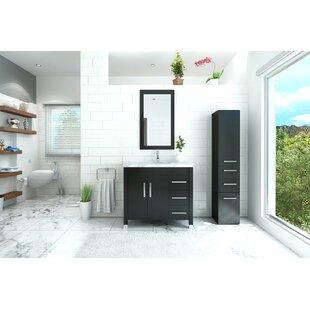 Inexpensive Keanu 40 Single Bathroom Vanity Set ByOrren Ellis