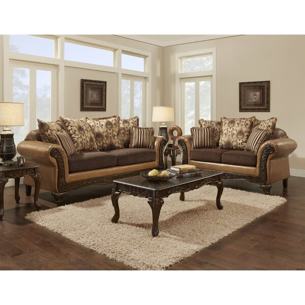 Violetta Bronze Living Room Collection by Fleur De Lis Living