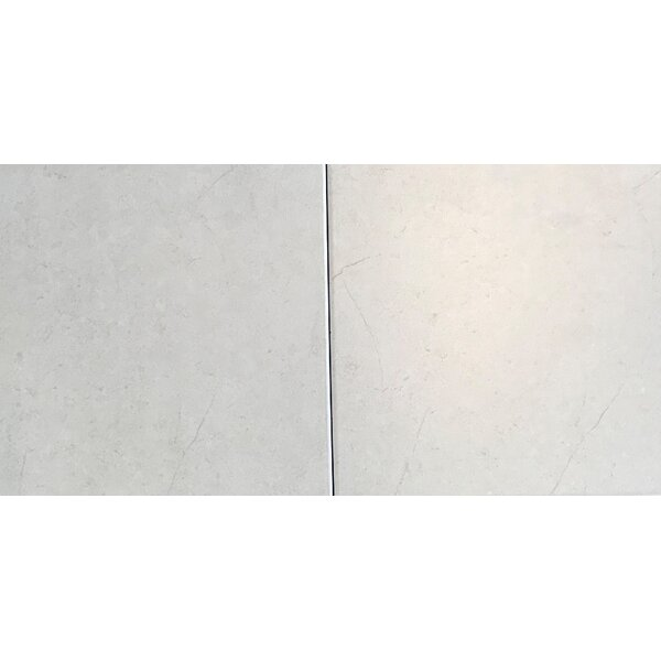18 x 18 Ceramic Field Tile in Cream by Travis Tile Sales