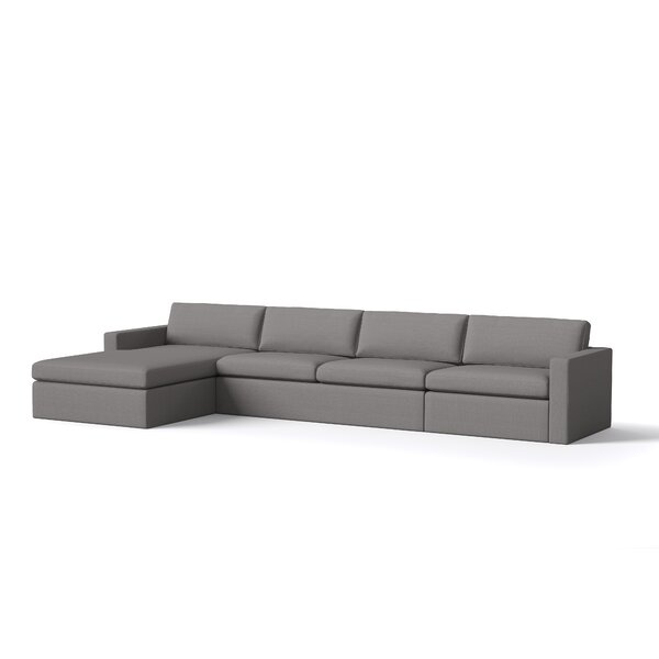 Marfa Sofa with Chaise by TrueModern