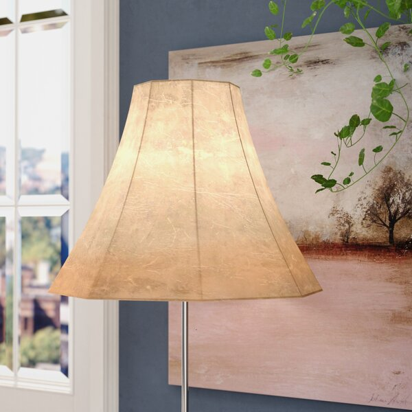 Faux Leather Bell Lamp Shade by Alcott Hill