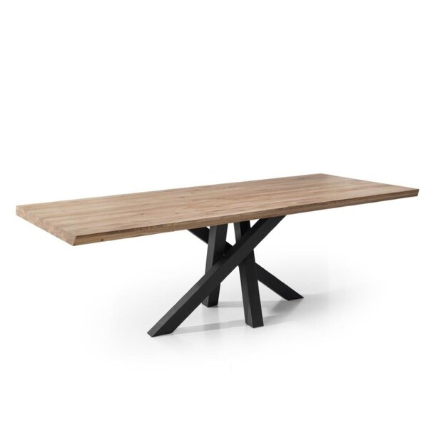 Coralino Solid Wood Dining Table by Williston Forge
