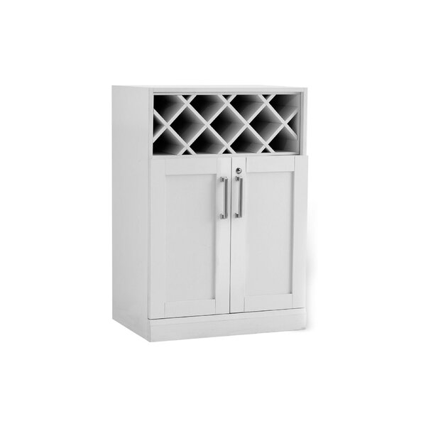 Bottle Cabinet Bar with Wine Storage by NewAge Products